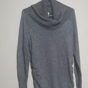 Gray maturity sweater